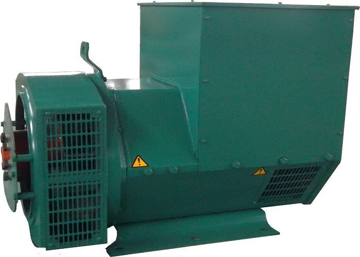 Green Three Phase Brushless Alternator Generator For Railway 128kw / 160kva